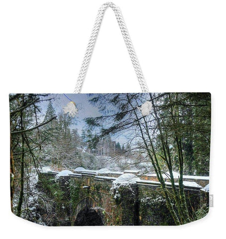 The Bridge and the Castle - Weekender Tote Bag