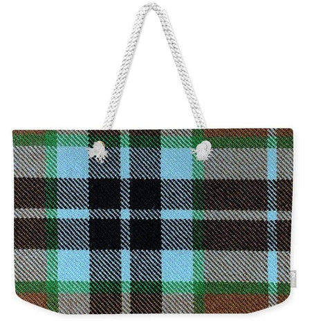 Thompson Hunting Ancient Tartan Swatch - Weekender Tote Bag