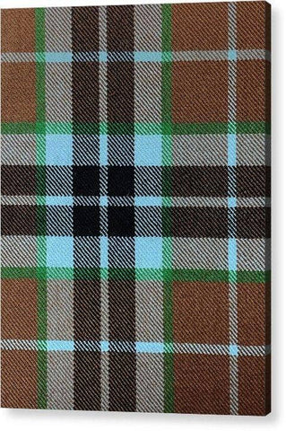 Thompson Hunting Ancient Tartan Swatch - Acrylic Print