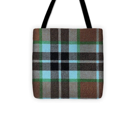 Thompson Hunting Ancient Tartan Swatch - Tote Bag