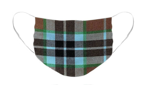 Thompson Hunting Ancient Tartan Swatch - Face Mask
