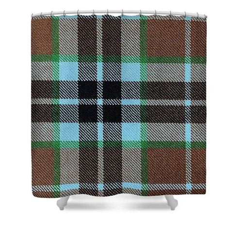 Thompson Hunting Ancient Tartan Swatch - Shower Curtain