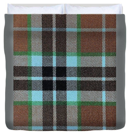 Thompson Hunting Ancient Tartan Swatch - Duvet Cover