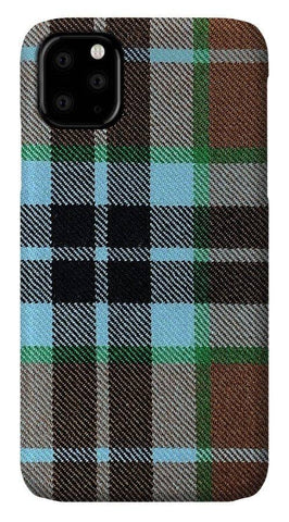 Thompson Hunting Ancient Tartan Swatch - Phone Case