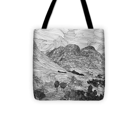 Three Sisters, Glen Coe - Tote Bag