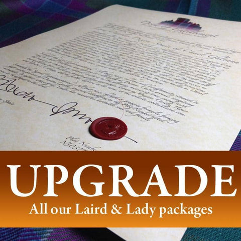 Upgrade Your Title - Scottish Laird