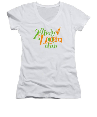 ZippedyZoom.club - Women's V-Neck