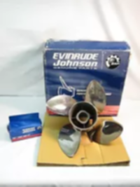BRP Evinrude Cyclone TBX Stainless Steel 4-Blade Prop (14-1/2 x 17) LH