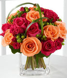 Simply Cheerful Mixed Rose Bouquet
