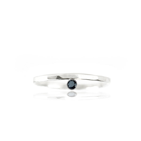 Zwarte Spinel Ring - ISH Jewels