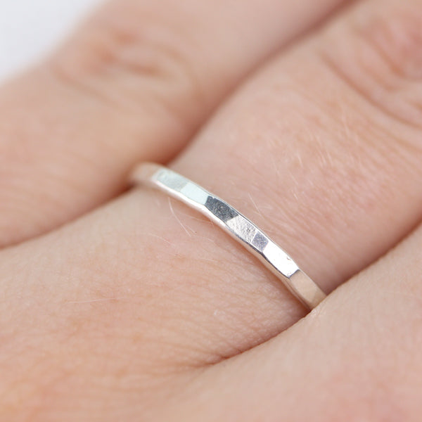 Stack Ring Zilver