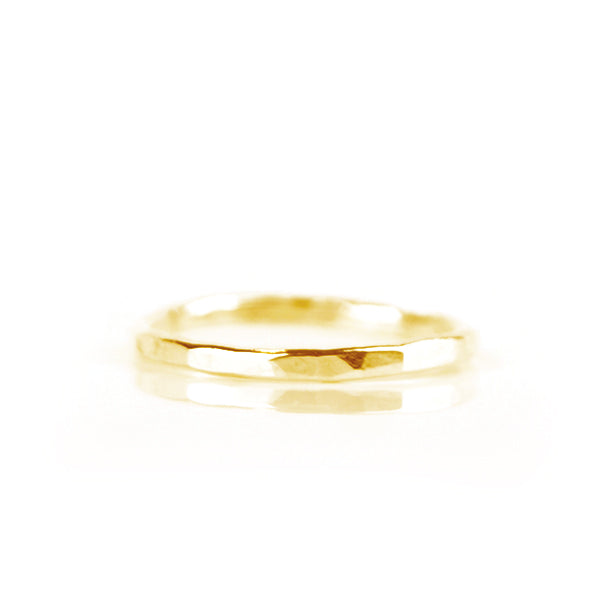 Stack Ring 14kt Goud - ISH Jewels