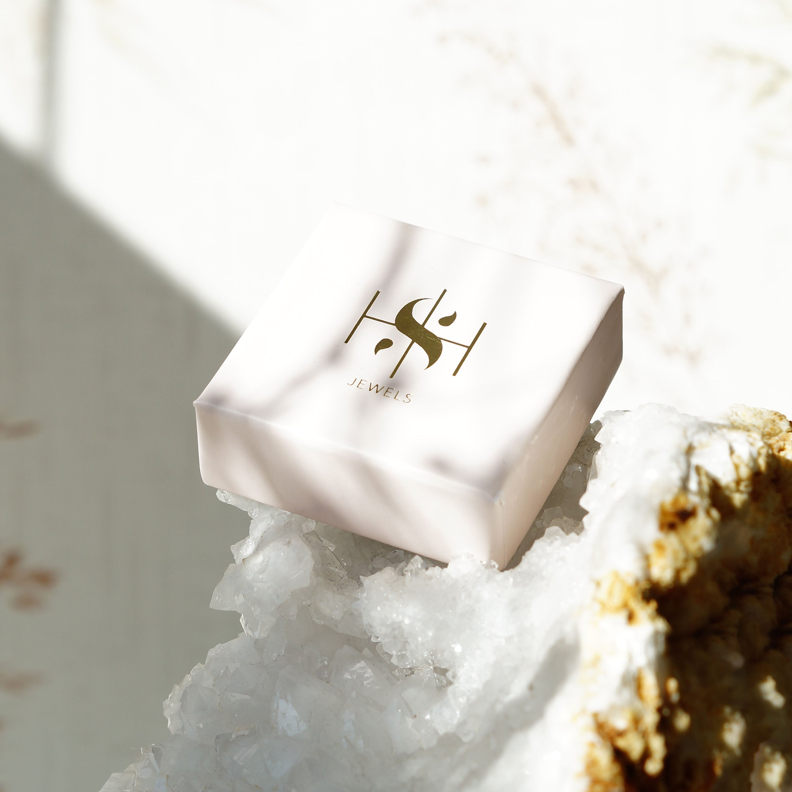 Ruwe Aquamarijn Ring 14kt Goud - ISH Jewels