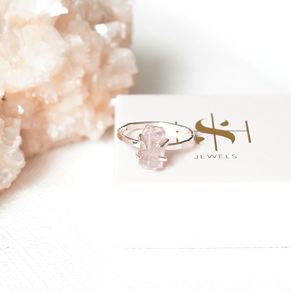 Roze Toermalijn Ring - ISH Jewels