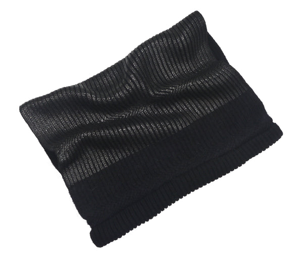 Metropolis snood - black