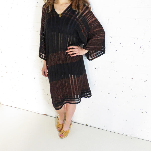 knitted dress kaftan