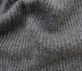 Cashmere Grey knitted Scarf UK