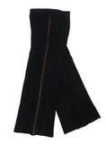 organic merino wool knitted trouser black