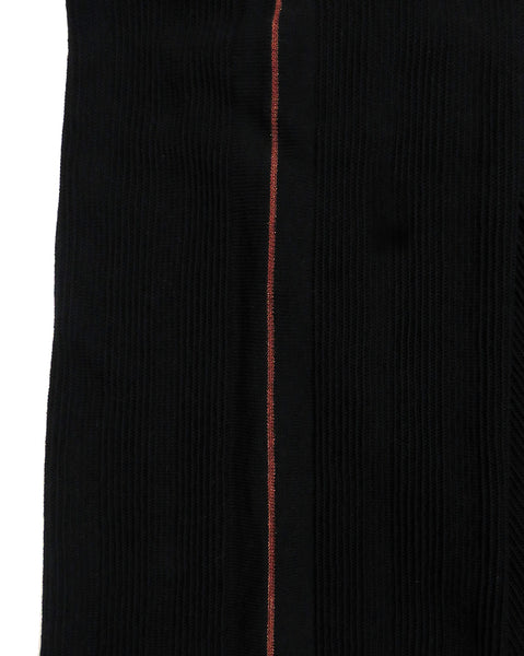 Eleven everything merino wool knitted trouser in black