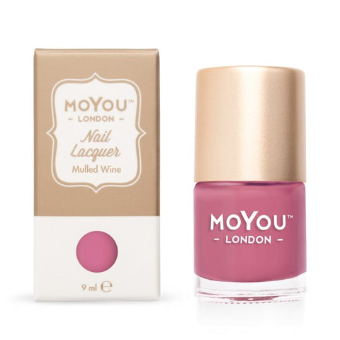 MoYou London Nail Lacquer: Mulled Wine 9ml - CHILL CABINET
