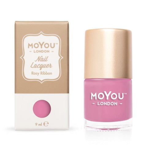 MoYou-London Nail Lacquer: Rosy Ribbon 9ml - CHILL CABINET