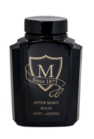 Morgans Anti-Ageing After Shave Balm Men's Anti-Ageing After Shave Balm Retro Glass Jar. Made with Matrixyl®3000, the first based on the matrikine peptide technology. Great fathers day or mens gift