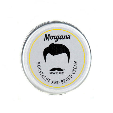 Morgans Moustache & Beard Cream This cream will soften, moisturise and condition whilst leaving your moustache and beard smelling great. Fathers Day gift