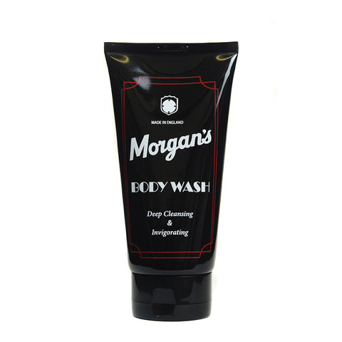 Morgans Mens Body Wash 150ml tube Luxury mens body wash suitable for all skin types for everyday use. Leaves the skin feeling fresh and invigorated. Great mens gift.