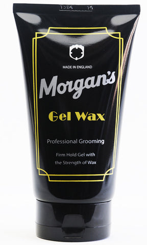 Morgans Gel Wax For men A long lasting firm hold gloss gel with the strength of wax. Ideal for achieving firm styles and spikes with a healthy looking shine.
