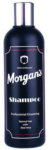 Morgans Mens Shampoo 250ml bottle Luxury professional shampoo Specially formulated for normal mens hair containing natural Aloe Vera and Keratin.