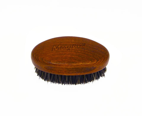 Morgans BEARD BRUSH Bristle and dark wood beard brush made in Italy exclusively for Morgan's. This brush is ideal beards to leave you looking groomed. Man gift or fathers day gift