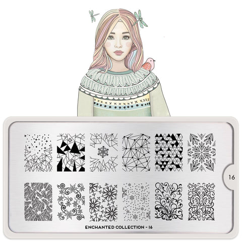 MoYou Plate - Enchanted 16 Stamp Plate - CHILL CABINET