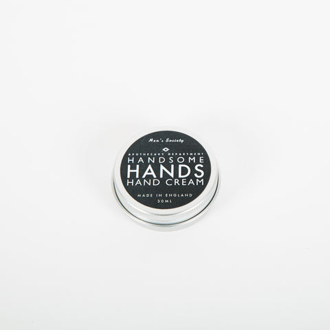 Mens Society Handsom moisturising hand cream, is the perfect gift for any man who works hard. Made in England, with a natural age-old formula.
