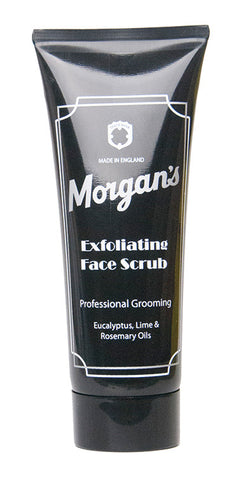 Morgan's Exfoliating Face Scrub for men gently exfoliates and instantly revives tired, dull skin, cleansing away impurities for smoother healthier looking skin