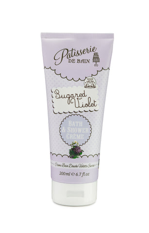 Sugared Violet Bath & Shower Crème 200ml - CHILL CABINET