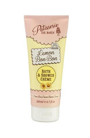 Lemon Bon-Bon Bath & Shower Crème 200ml - CHILL CABINET