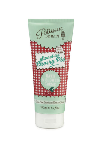 Sweet as Cherry Pie Bath & Shower Crème 200ml - CHILL CABINET