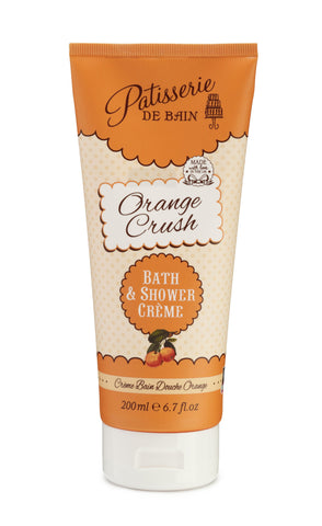 Orange Crush Bath & Shower Crème 200ml - CHILL CABINET