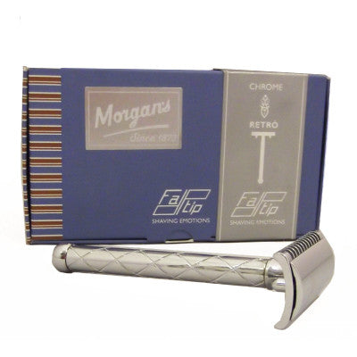 Morgans new safety razor is price and quality conscious. Looking for entry into the perfect wet shave, then our Gentle Wet Shaver is great value for money.