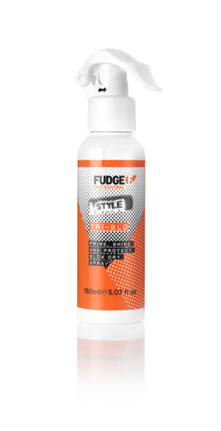 Fudge Hair products Fudge Hair Protective Blow Dry spray hairspray Hair styling spray Hair heat protector Fudge Tri-Blo Blowdry Blow Dry