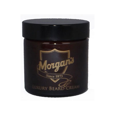 Morgan's Luxury Beard Cream moustache and beard cream Morgans Pomade mens grooming Mens gift Fathers Day Gift beard maintenance beard grooming