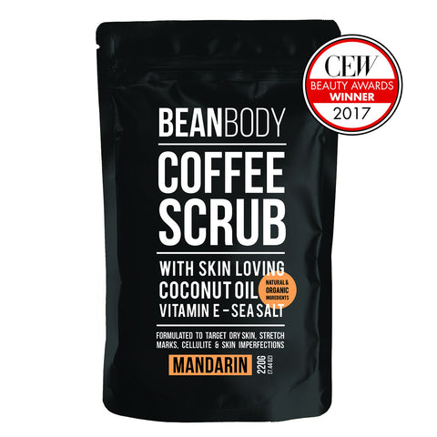 Mandarin Coffee Scrub