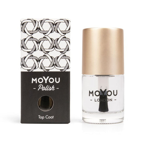 MoYou London: Smudge Resistant Top Coat 15ml - CHILL CABINET