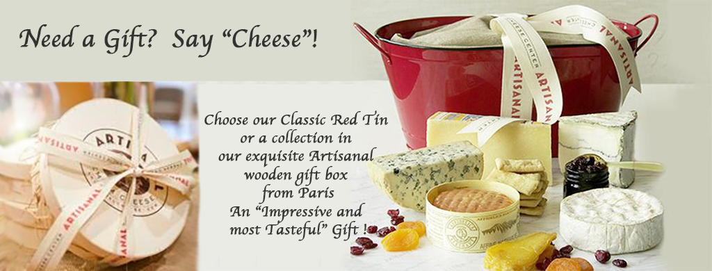 Cheeses That Are Gift Boxed