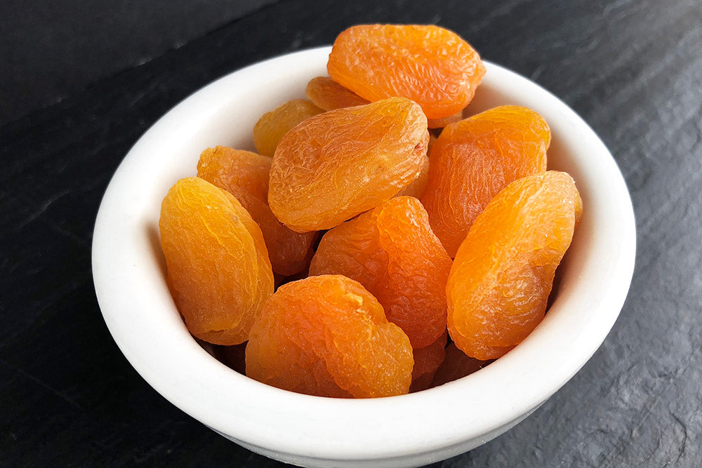 Dried Apricots, 4oz Satchel