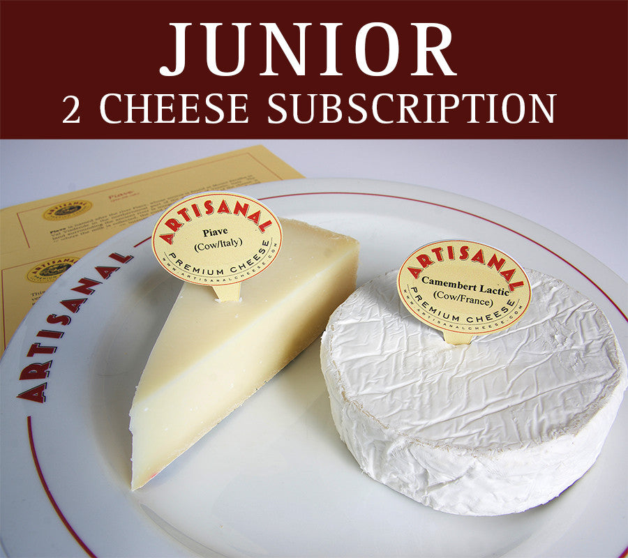 Junior Cheese Club (2 cheeses)