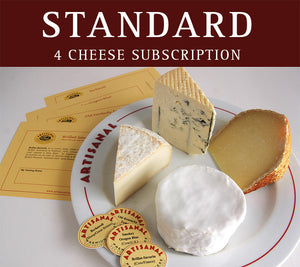 Standard Cheese Club (4 cheeses)