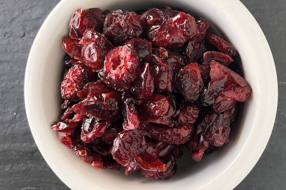 Dried Cranberries, 4oz Satchel
