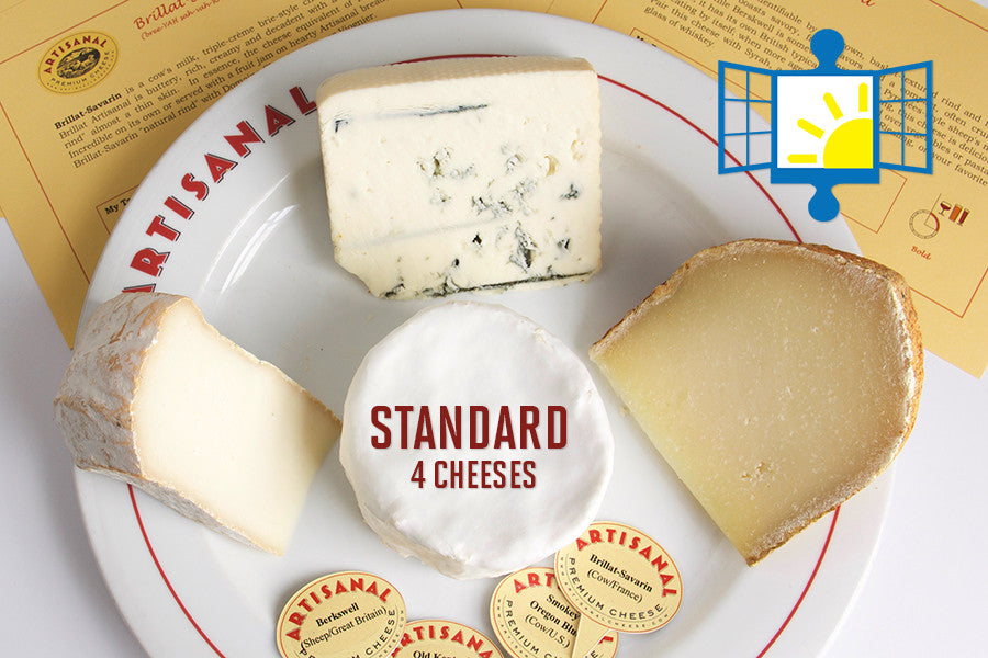 Long Island Autism Communities Standard Cheese Club (4 cheeses)