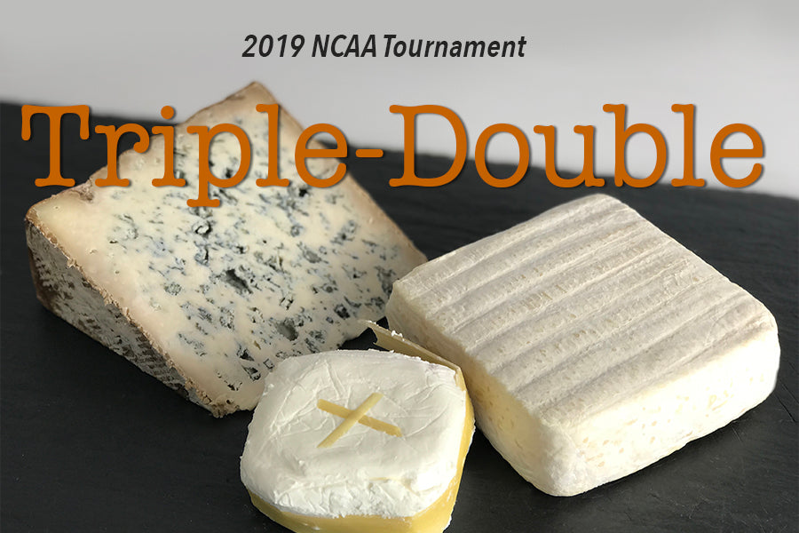 Triple-Double Collection - Three Double Cream Cheeses